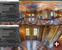 Panorama-Projektionsfilter in Gimp 2.10