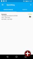 Syncthing für Android: Verzeichnisse