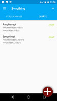 Syncthing für Android: Geräte