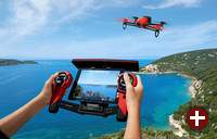 Parrot Bebop Drone mit Skycontroller