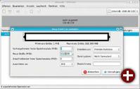 Partitionieren: Auf beiden Festplatten erstellen Sie im verfügbaren Platz jeweils eine primäre Partition, die aber kein Dateisystem bekommt. In Gparted wählen Sie »Nicht formatiert«