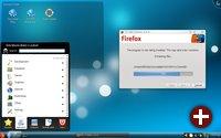 PC-BSD 7.1 mit KDE 4.2.2 und Warden