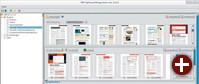 PDFs per Mausklick mischen: Die Java-Anwendung PDF Split and Merge bringt einen grafischen Editor, um Dokumente und Einzelseiten zu neuen PDFs zusammenzufügen