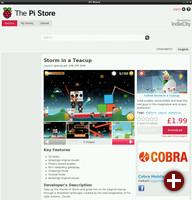Pi Store: Beschreibung einer Anwendung