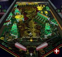 El Dorado, einer der zahlreichen simulierten Tische in Pinball Arcade
