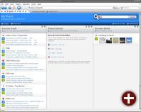 sozialer Webbrowser Flock 1.1