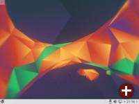 Plasma-Desktop von Kubuntu 16.04 LTS