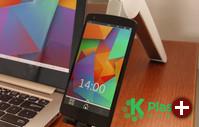 Plasma Mobile auf einem LG Nexus 5