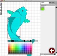 Plattformunabhängiges Zeichenprogramm Leonardo