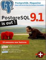 PostgreSQL Magazine #01, Titelseite
