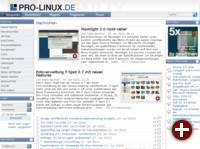 Pro-Linux unter NB3 1.1