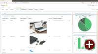 Produktliste in der Corteza Service Cloud