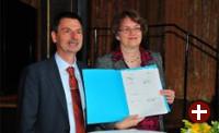 Projektabschluss mit Bürgermeisterin Christine Strobl und Projektleiter Peter Hofmann