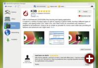 Prototyp eines AppStore-Clients unter KDE