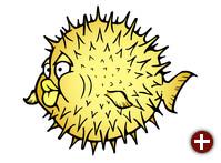 Puffy, das OpenBSD-Maskottchen