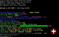 Knoppix Derivat Bootvorgang in QEMU