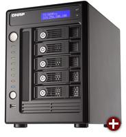 Das QNAP TS-509 Pro