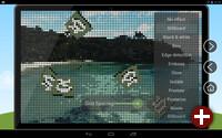 Qt-Demo mit grafischen Effekten unter Android
