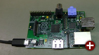 Raspberry Pi Beta (Modell B)