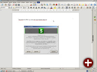 ReactOS 0.4.7 mit LibreOffice 5