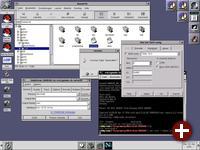 Gnome 1 und GNUstep unter Red Hat 6.2