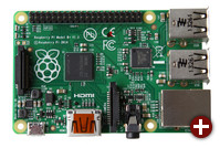 Raspberry Pi, Modell B+