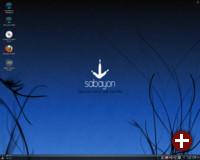 Sabayon Linux mit KDE