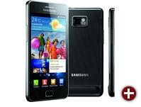 Ein Android-Smartphone: Samsung Galaxy S2