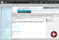 Schreiben einer E-Mail