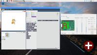Scratch 2 mit SenseHAT-Erweiterung in Raspbian Stretch