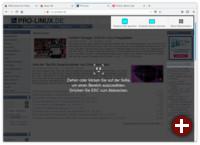Screenshots in Firefox 57 »Quantum«