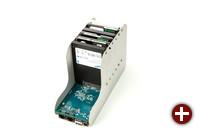 Sechs Festplatten und SSDs finden Platz im GnuBee NAS