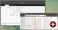 Sicherung auf NAS-Freigabe unter Ubuntu: Im Tool Déjà Dup müssen Sie den Zielort der Sicherung eingeben. Der vom Dateimanager gezeigte Pfad hilft Ihnen dabei nicht wirklich