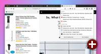 Side View in Firefox: Hinzufügen über einen Button