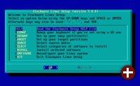 Setup von Slackware 9.0