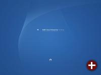 Der mit Suse Linux 10.1 fast identische Bootscreen