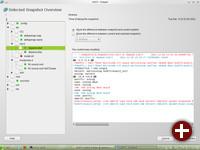 Snapper: Yast-Modul für die Snapshotfunktionen von Btrfs