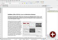 SoftMaker Office 2018 - Textmaker in der alten Ansicht