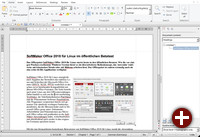 SoftMaker Office 2018 - Textmaker mit Ribbons