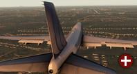 Spielszene aus »X-Plane 11«