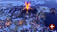 Spielszene aus »Civilization VI: Gathering Storm«