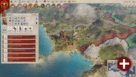Spielszene aus »Imperator: Rome«