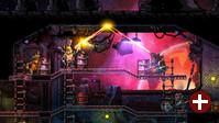 Spielszene aus SteamWorld Heist