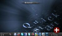 Splashtop 2.0 im Lenovo-Netbook Ideapad S10-3