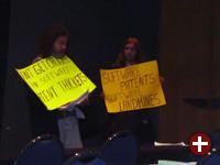Stallman protestiert gegen Softwarepatente