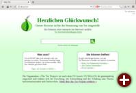 Starseite von Tor Browser 4.0