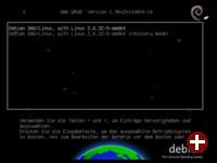 Start eines Debian-Systems mit GRUB2