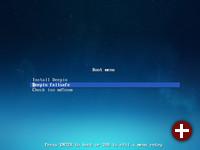 Start von Deepin 15.7