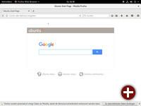 Startseite von Firefox 53
