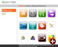 Startseite von OpenTaps